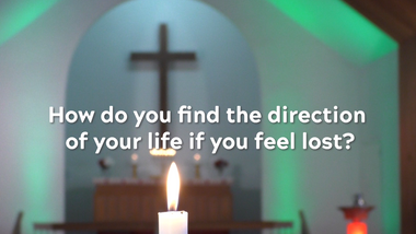 How to find the direction when lost?