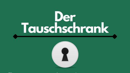 Neu - der Tausch-Schrank!