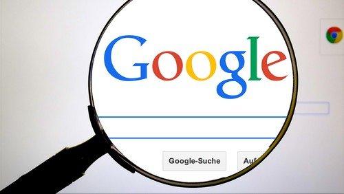 Google-Suche auf unserer Homepage
