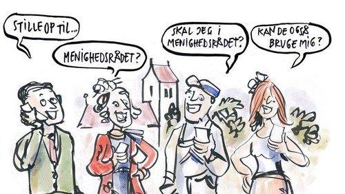 De nye menighedsråd i Jyderup og Holmstrup