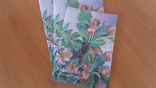 Nyt Kirkeblad på vej fra Trykken til din postkasse