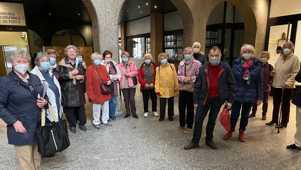 Bericht vom Treffpunkt Gemeinde: Spaziergang durch die Rues basses de Genève
