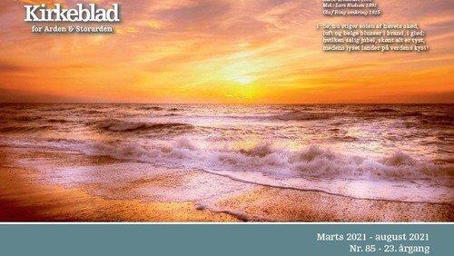 Kirkeblad Arden marts - august 2021