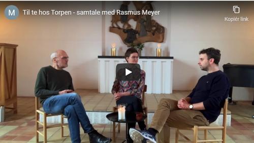 Te med Rasmus Meyer forstander på Krogerup Højskole