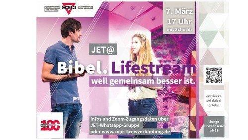 Bibel.Lifestream für Junge Erwachsene mit Martin Schott (Schoddi)