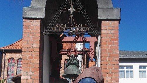 Glocken läuten in Stralsund