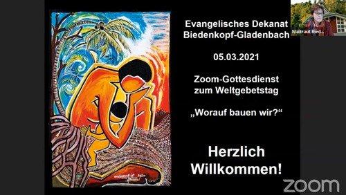 Dekanatsfrauenteam streamt Zoom-Gottesdienst zum Weltgebetstag