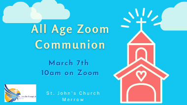 All Age Communion Services - Sunday 7th March