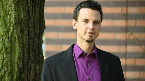 Pfarrer Andreas Erdmann im Entsendungsdienst