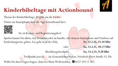 Kinderbibeltage mit Actionbound