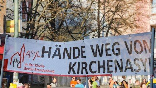 Arbeit mit Geflüchteten im Kirchenkreis Berlin Nord-Ost / Kirchenasyl