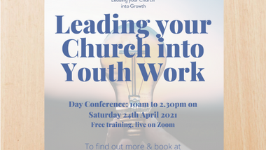 Leading your Church into Youth work
