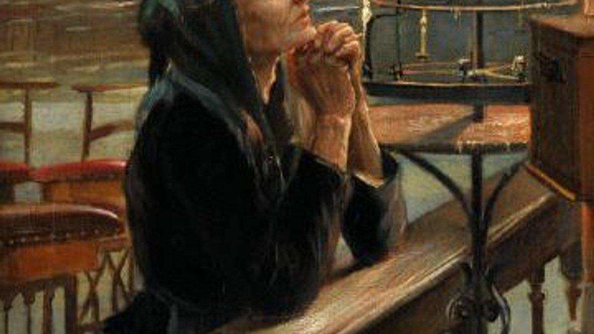 Montag, 15. März: ein gutes Wort für den Tag: Menschen gehen zu Gott in ihrer Not