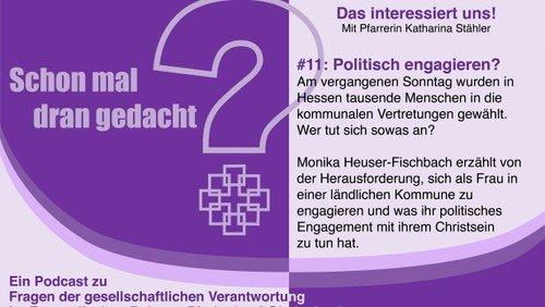 Über politisches Engagement und Frauen in der Kommunalpolitik: Podcast