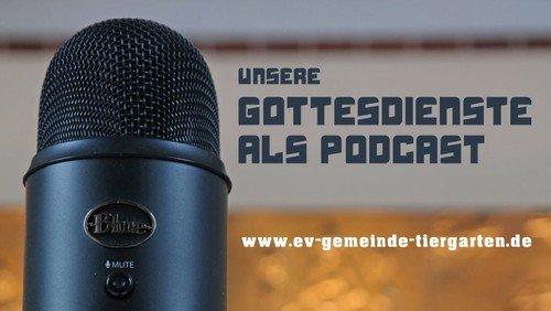 Podcast zum Gottesdienst am Sonntag Laetare, 14. März 2021