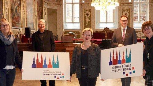 Neues Logo für die Innenstadt-Kirchengemeinden und das Sieben Türme-Projekt