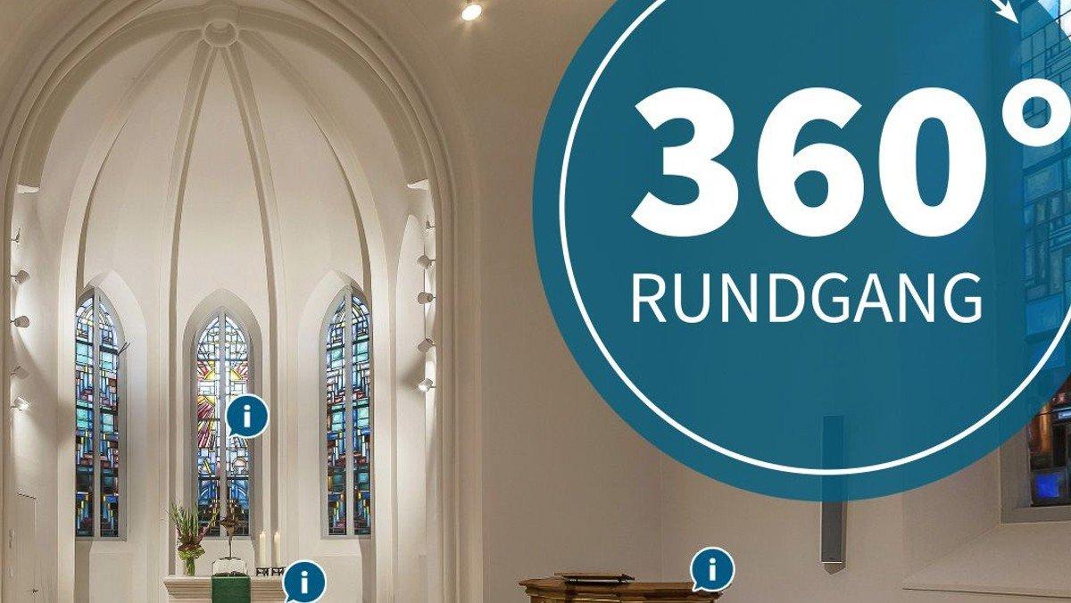 Virtueller Rundgang durch die Auferstehungskirche