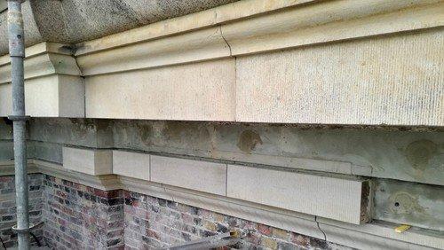 Renovering af kirkens sandstensudsmykninger