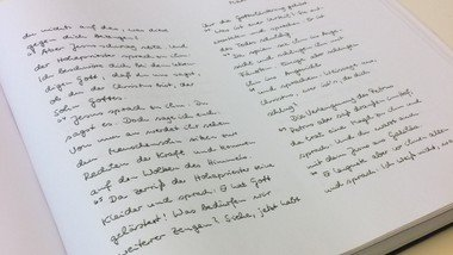 Machen Sie mit bei der Bremer Bibelhandschrift