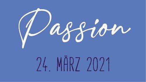 Passionsandacht am 24. März