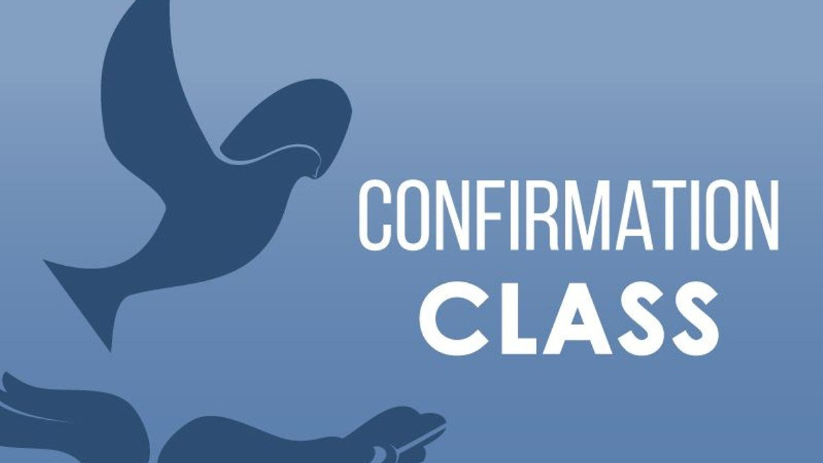 Confirmation classes starting