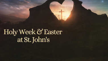 Book in to Holy Week & Easter Services