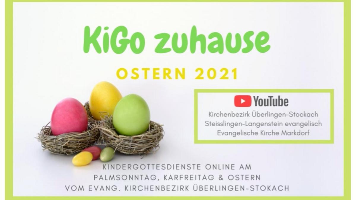 Ostern 2021 - Kindergottesdienste online