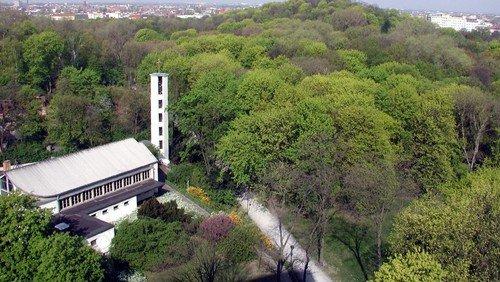 Kirchenführung Himmelfahrtkirche, Berlin-Gesundbrunnen, März 2021