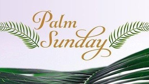 Palm Sunday Communion - Sunday 28th March 2021