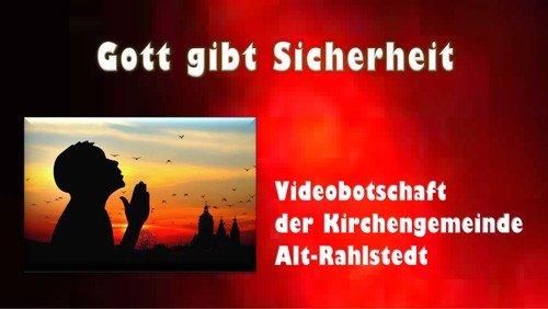 Videobotschaft vom 21.02.2021