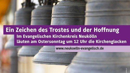 Gemeinsames Glockenläuten am Ostersonntag um 12 Uhr