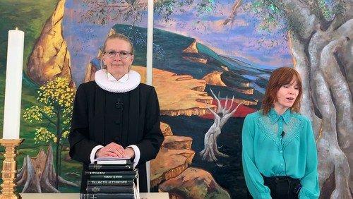 Skærtorsdagsgudstjeneste ved Johanne Haastrup