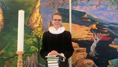 Påskegudstjeneste ved  Johanne Haastrup, 2 påskedag