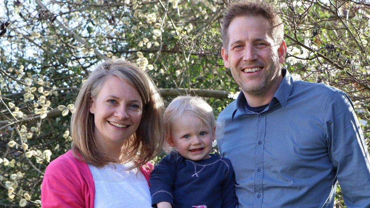 Pfrn. Katrin Hildenbrand und Pfr. Christian Ferber sind neues Pfarrehepaar