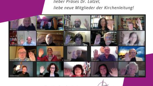 Digitale Dankesworte und Willkommensgrüße aus dem Kirchenkreis Lennep
