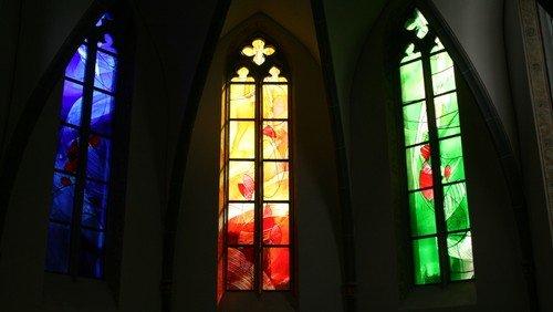 Die Kirchenfenster in Altwied