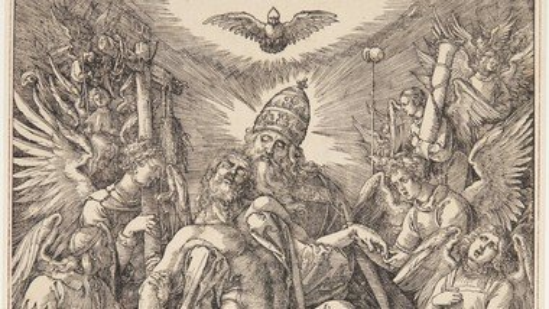 Albrecht Dürer: Treenigheden (Nådestolen), 1511