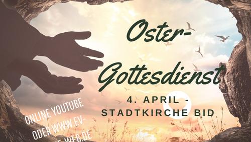 Online-Oster-Gottesdienst Stadtkirche Biedenkopf