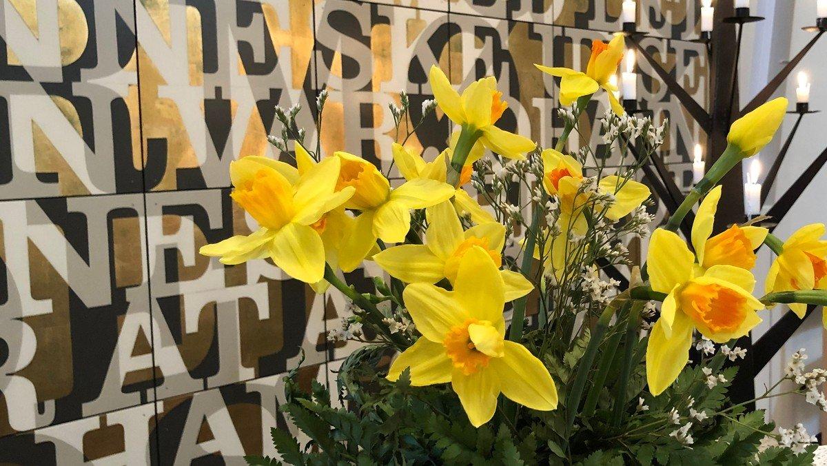 Glædelig Påske - Onlinegudstjeneste og prædiken til Påskedag