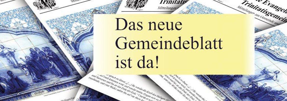 Neue Ausgabe des Gemeindeblatts