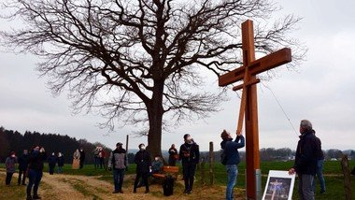 Christen waren gemeinsam auf ökumenischem Kreuzweg unterwegs