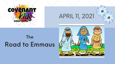The road to Emmaus!