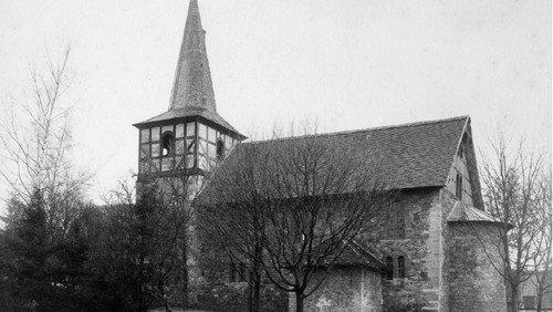 Schwammsanierung im Gruftanbau der Pansfelder Kirche