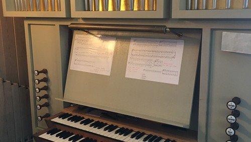 Jobopslag som organist i Butterup-Tuse Kirker