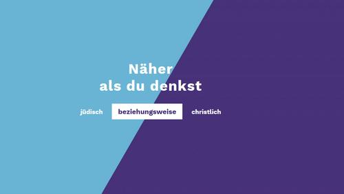 Themenreihe #beziehungsweise - Begegnen Sie der jüdischen Vielfalt in Deutschland