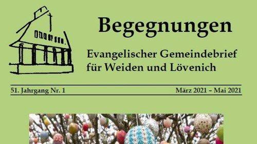 Gemeindebrief Jahr 51 Nr. 1