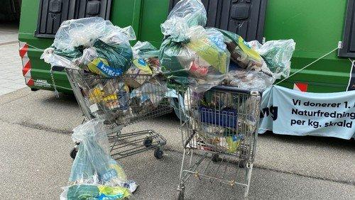 90 kg affald blev samlet ind af entusiastiske frivillige