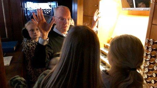 Farvel og på gensyn til organist Jens E. Christensen