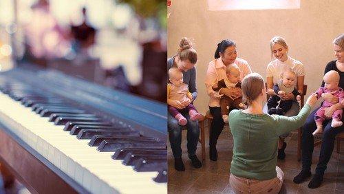 Fællessang, lasagnegudstjenester og babysalmesang