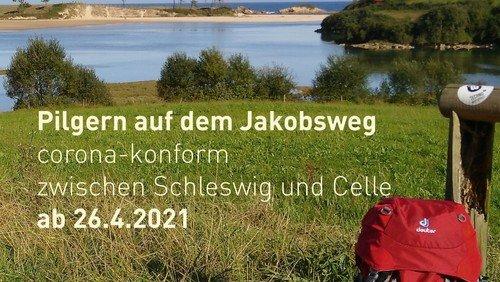 Pilgern auf dem Jakobsweg zwischen Schleswig und Hannover